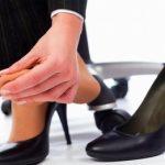 靴を履いて脚が痛くなる原因は?